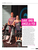 Dave and Angela Fox in 425 Magazine