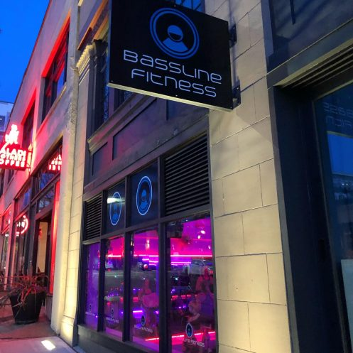 Bassline Fitness Studio Front in Capitol Hill